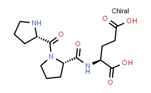 (S)-2-((S)-1-((S)-Pyrrolidine-2-carbonyl)pyrrolidine-2-carboxamido)pentanedioic acid