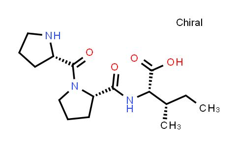 (2S,3S)-3-Methyl-2-((S)-1-((S)-pyrrolidine-2-carbonyl)pyrrolidine-2-carboxamido)pentanoic acid