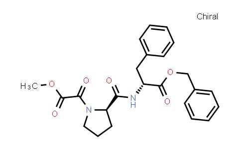 (R)-Benzyl 2-((R)-1-(2-methoxy-2-oxoacetyl)pyrrolidine-2-carboxamido)-3-phenylpropanoate