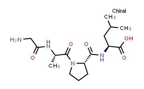 (S)-2-((S)-1-((S)-2-(2-Aminoacetamido)propanoyl)pyrrolidine-2-carboxamido)-4-methylpentanoic acid