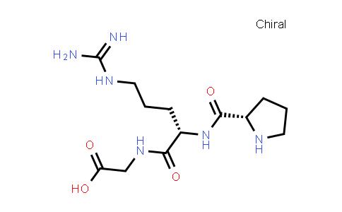 2-((S)-5-Guanidino-2-((S)-pyrrolidine-2-carboxamido)pentanamido)acetic acid