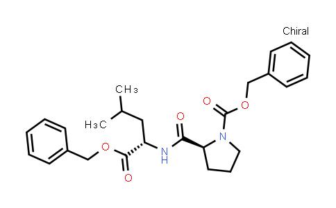 (S)-Benzyl 2-(((S)-1-(benzyloxy)-4-methyl-1-oxopentan-2-yl)carbamoyl)pyrrolidine-1-carboxylate