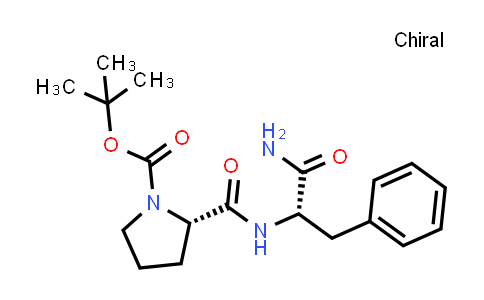 (S)-tert-Butyl 2-(((S)-1-amino-1-oxo-3-phenylpropan-2-yl)carbamoyl)pyrrolidine-1-carboxylate