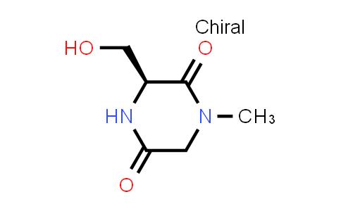 (S)-3-(Hydroxymethyl)-1-methylpiperazine-2,5-dione