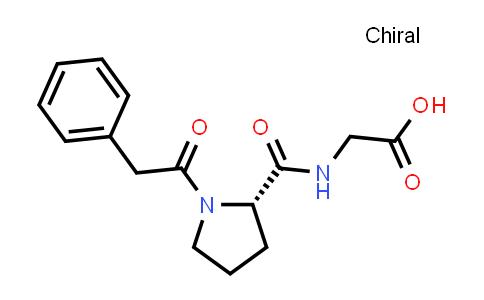 (S)-2-(1-(2-Phenylacetyl)pyrrolidine-2-carboxamido)acetic acid