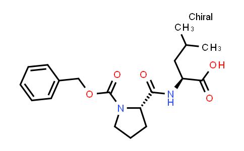 (S)-2-((S)-1-((Benzyloxy)carbonyl)pyrrolidine-2-carboxamido)-4-methylpentanoic acid