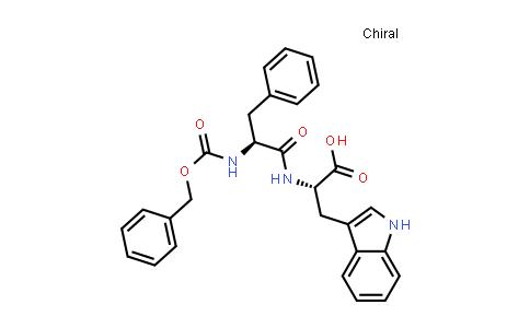 (S)-2-((S)-2-(((Benzyloxy)carbonyl)amino)-3-phenylpropanamido)-3-(1H-indol-3-yl)propanoic acid