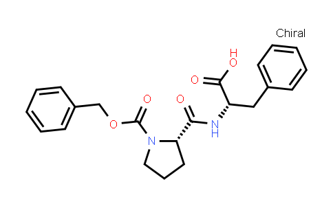 (S)-2-((S)-1-((Benzyloxy)carbonyl)pyrrolidine-2-carboxamido)-3-phenylpropanoic acid