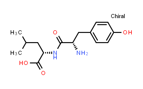 (S)-2-((S)-2-Amino-3-(4-hydroxyphenyl)propanamido)-4-methylpentanoic acid