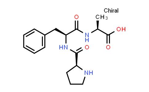 (S)-2-((S)-3-Phenyl-2-((S)-pyrrolidine-2-carboxamido)propanamido)propanoic acid
