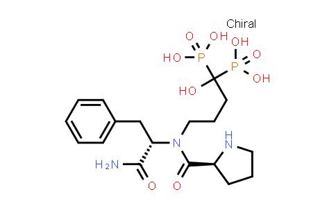 (4-((S)-N-((S)-1-Amino-1-oxo-3-phenylpropan-2-yl)pyrrolidine-2-carboxamido)-1-hydroxybutane-1,1-diyl)diphosphonic acid