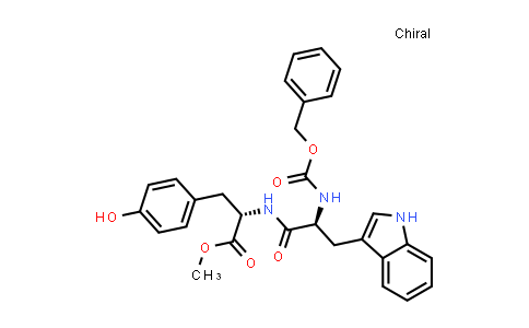 (S)-Methyl 2-((S)-2-(((benzyloxy)carbonyl)amino)-3-(1H-indol-3-yl)propanamido)-3-(4-hydroxyphenyl)propanoate