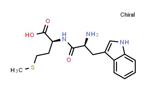 (S)-2-((S)-2-Amino-3-(1H-indol-3-yl)propanamido)-4-(methylthio)butanoic acid