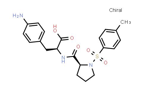 (S)-3-(4-Aminophenyl)-2-((S)-1-tosylpyrrolidine-2-carboxamido)propanoic acid