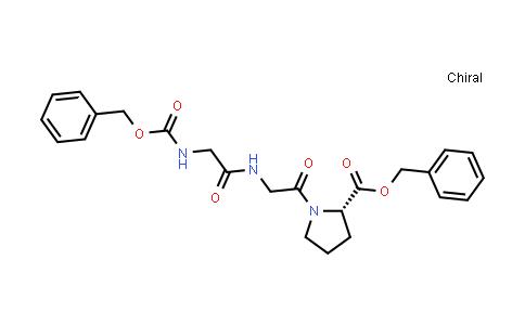 (S)-Benzyl 1-(2-(2-(((benzyloxy)carbonyl)amino)acetamido)acetyl)pyrrolidine-2-carboxylate