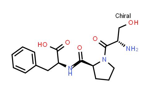 (S)-2-((S)-1-((S)-2-Amino-3-hydroxypropanoyl)pyrrolidine-2-carboxamido)-3-phenylpropanoic acid