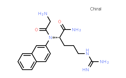 (S)-2-(2-Amino-N-(naphthalen-2-yl)acetamido)-5-guanidinopentanamide