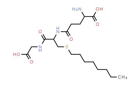 2-Amino-5-((1-((carboxymethyl)amino)-3-(octylthio)-1-oxopropan-2-yl)amino)-5-oxopentanoic acid
