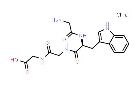 (S)-2-(2-(2-(2-Aminoacetamido)-3-(1H-indol-3-yl)propanamido)acetamido)acetic acid