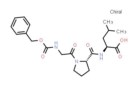 (S)-2-((S)-1-(2-(((Benzyloxy)carbonyl)amino)acetyl)pyrrolidine-2-carboxamido)-4-methylpentanoic acid