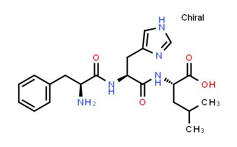 N-(N-L-Phenylalanyl-L-histidyl)-L-leucine