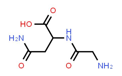 4-Amino-2-(2-aminoacetamido)-4-oxobutanoic acid