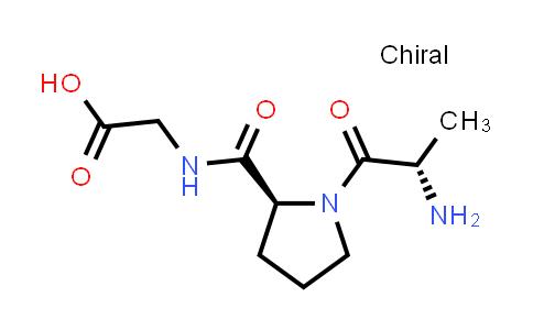 2-((S)-1-((S)-2-Aminopropanoyl)pyrrolidine-2-carboxamido)acetic acid