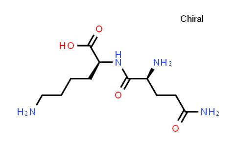 (S)-6-Amino-2-((S)-2,5-diamino-5-oxopentanamido)hexanoic acid