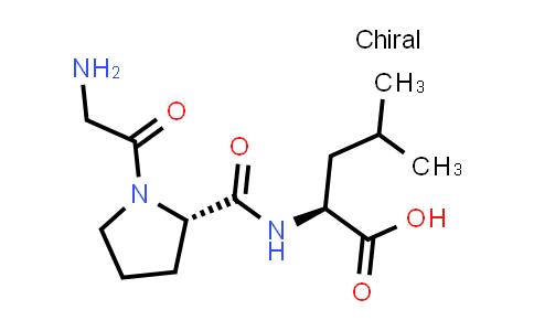 (S)-2-((S)-1-(2-Aminoacetyl)pyrrolidine-2-carboxamido)-4-methylpentanoic acid