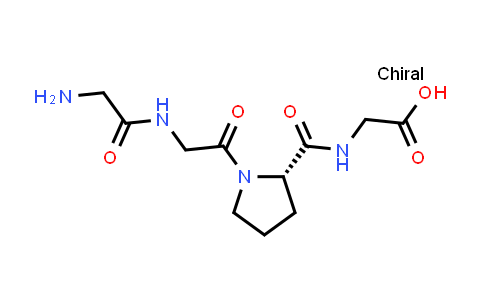 (S)-2-(1-(2-(2-Aminoacetamido)acetyl)pyrrolidine-2-carboxamido)acetic acid