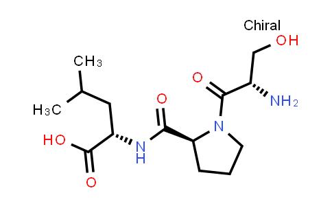 (S)-2-((S)-1-((S)-2-Amino-3-hydroxypropanoyl)pyrrolidine-2-carboxamido)-4-methylpentanoic acid