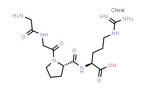 (S)-2-((S)-1-(2-(2-Aminoacetamido)acetyl)pyrrolidine-2-carboxamido)-5-guanidinopentanoic acid