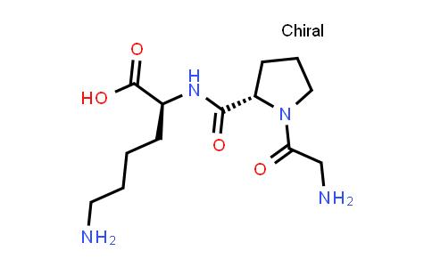 (S)-6-Amino-2-((S)-1-(2-aminoacetyl)pyrrolidine-2-carboxamido)hexanoic acid