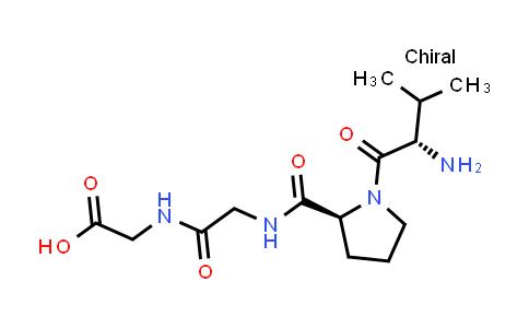 2-(2-((S)-1-((S)-2-Amino-3-methylbutanoyl)pyrrolidine-2-carboxamido)acetamido)acetic acid