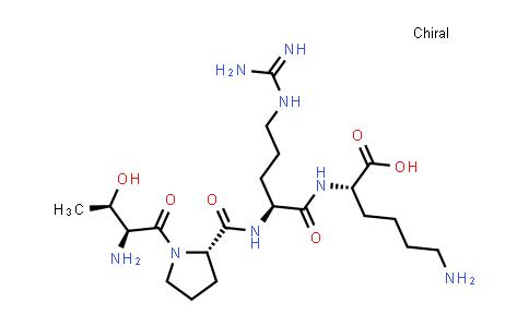 L-Threonyl-L-prolyl-L-arginyl-L-lysine