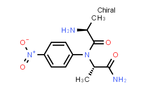 (S)-2-Amino-N-((S)-1-amino-1-oxopropan-2-yl)-N-(4-nitrophenyl)propanamide