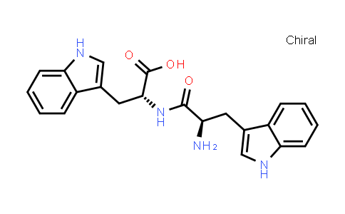 (R)-2-((R)-2-Amino-3-(1H-indol-3-yl)propanamido)-3-(1H-indol-3-yl)propanoic acid