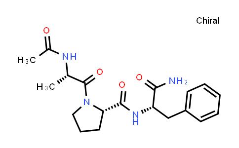 (S)-1-((S)-2-Acetamidopropanoyl)-N-((S)-1-amino-1-oxo-3-phenylpropan-2-yl)pyrrolidine-2-carboxamide