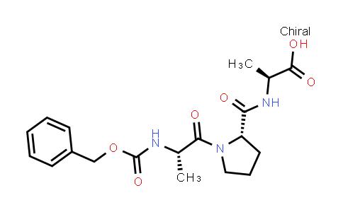(S)-2-((S)-1-((S)-2-(((Benzyloxy)carbonyl)amino)propanoyl)pyrrolidine-2-carboxamido)propanoic acid
