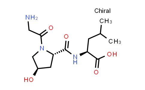 (S)-2-((2S,4R)-1-(2-Aminoacetyl)-4-hydroxypyrrolidine-2-carboxamido)-4-methylpentanoic acid