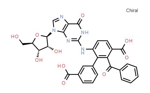 Guanosine N-benzoyl-3,5-dibenzoate