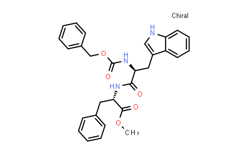 (S)-Methyl 2-((S)-2-(((benzyloxy)carbonyl)amino)-3-(1H-indol-3-yl)propanamido)-3-phenylpropanoate