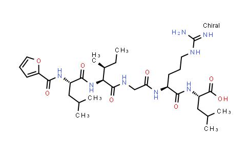 N-(2-Furanylcarbonyl)-L-leucyl-L-isoleucylglycyl-L-arginyl-L-leucine