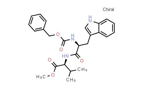 (S)-Methyl 2-((S)-2-(((benzyloxy)carbonyl)amino)-3-(1H-indol-3-yl)propanamido)-3-methylbutanoate