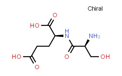 (S)-2-((S)-2-Amino-3-hydroxypropanamido)pentanedioic acid