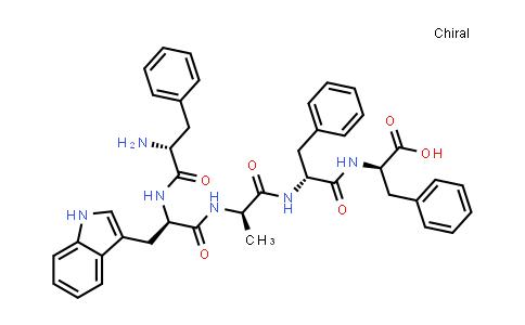 (2R,5R,8R,11R,14R)-11-((1H-Indol-3-yl)methyl)-14-amino-2,5-dibenzyl-8-methyl-4,7,10,13-tetraoxo-15-phenyl-3,6,9,12-tetraazapentadecan-1-oic acid