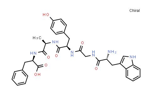 (2R,5R,8R,14R)-14-Amino-2-benzyl-8-(4-hydroxybenzyl)-15-(1H-indol-3-yl)-5-methyl-4,7,10,13-tetraoxo-3,6,9,12-tetraazapentadecan-1-oic acid