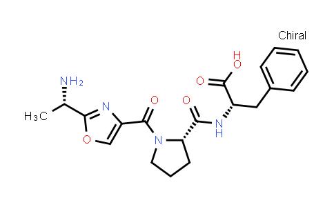 1-[[2-[(1S)-1-Aminoethyl]-4-oxazolyl]carbonyl]-L-prolyl-L-phenylalanine