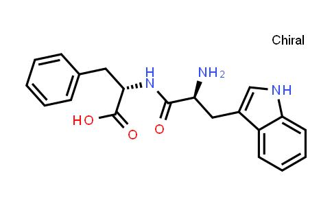 (S)-2-((S)-2-Amino-3-(1H-indol-3-yl)propanamido)-3-phenylpropanoic acid
