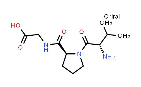 2-((S)-1-((S)-2-Amino-3-methylbutanoyl)pyrrolidine-2-carboxamido)acetic acid
